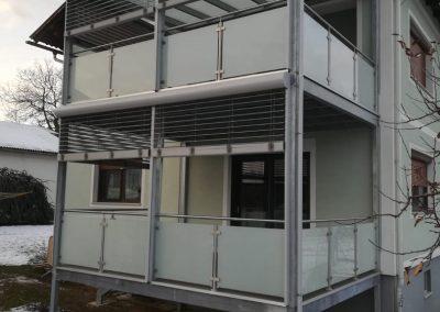 Balkone Zäune Überdachungen Tore Reiterer Metalltechnik